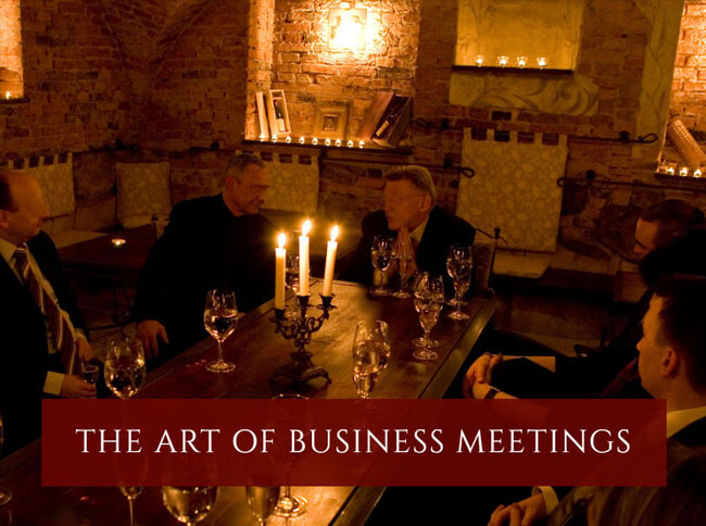 The art of business meetings