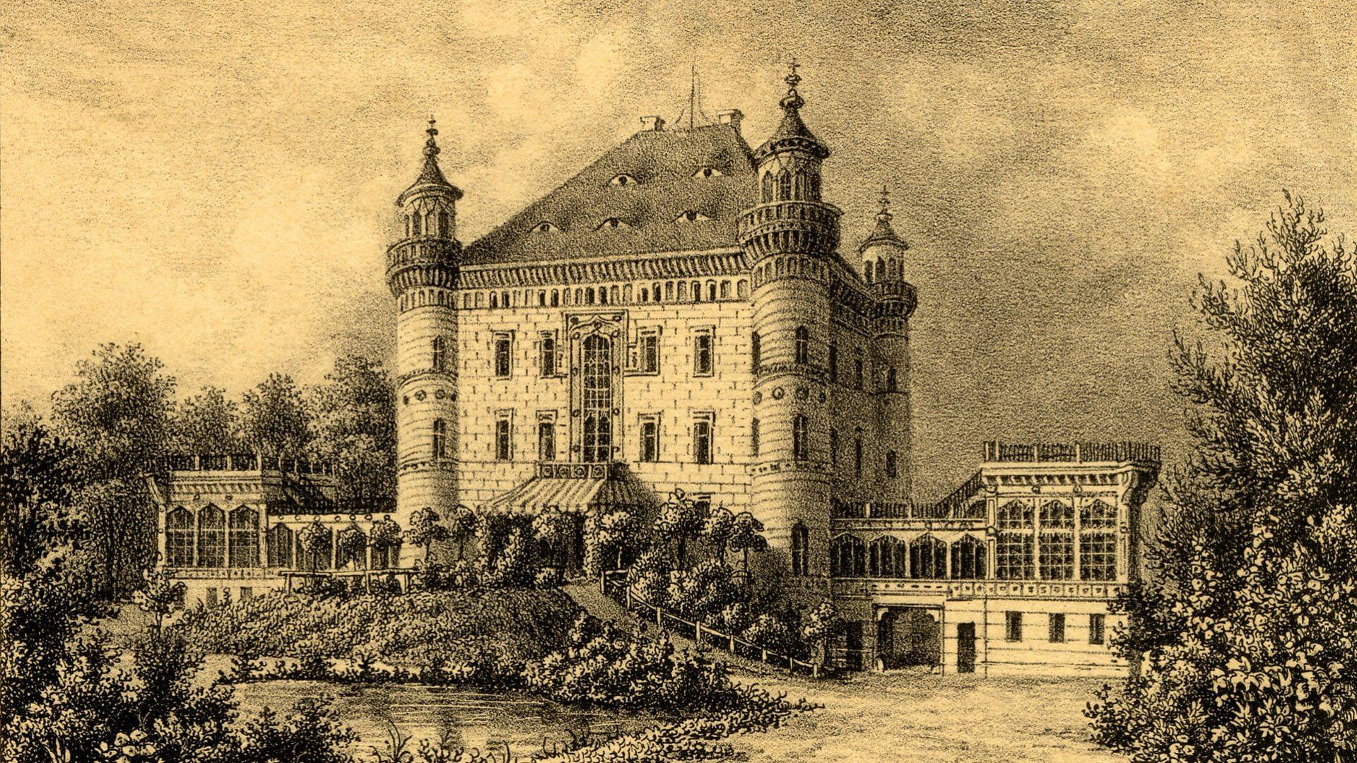 Wojanow palace, Giant Mountains Poland