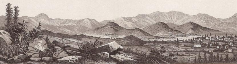 Panorama z Zamku księcia Henryka
