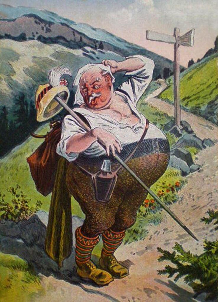Karkonosze humor 1927