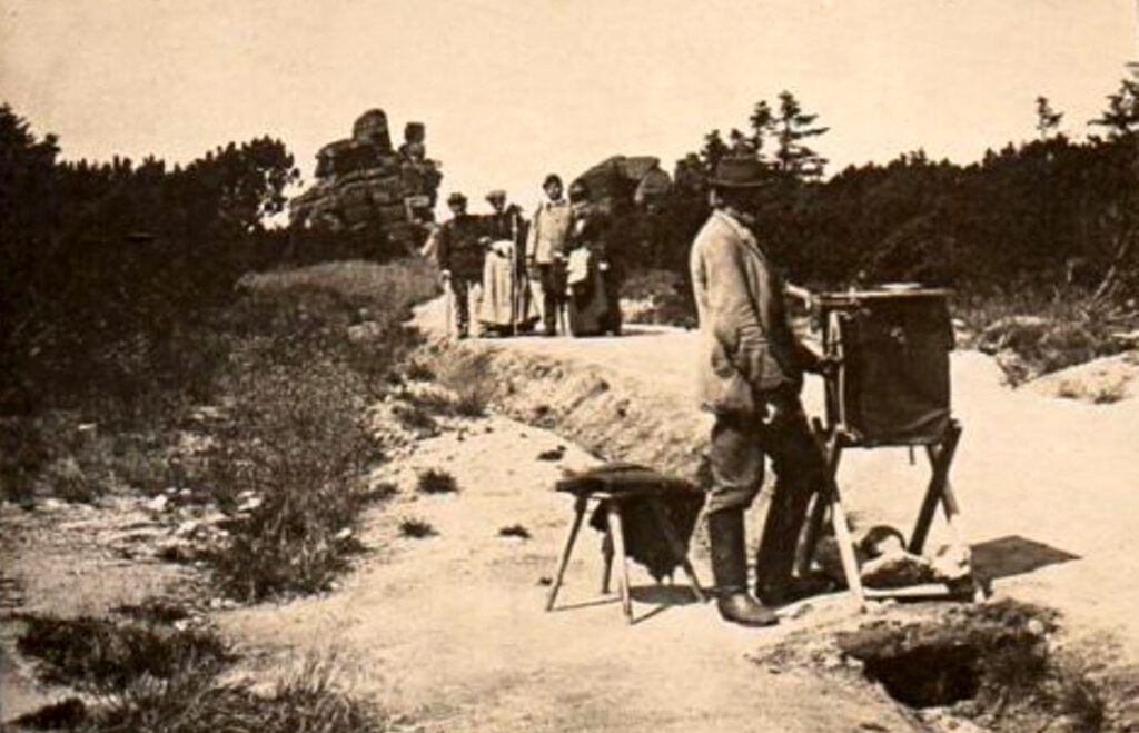 Karkonosze Trzy Swinki Kataryniarz ok. 1900